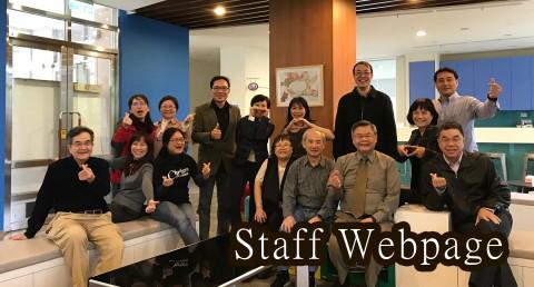 Staff Webpage